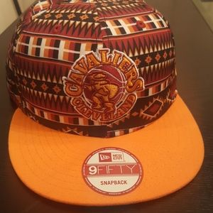 Cavaliers Cleveland Snap Back Hat New